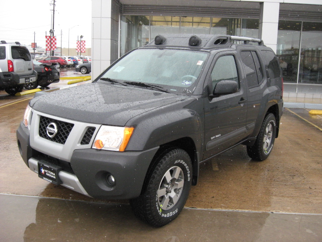 2010 nissan xterra 4 4 off road in night armor now available at victoria nissan victoria. Black Bedroom Furniture Sets. Home Design Ideas